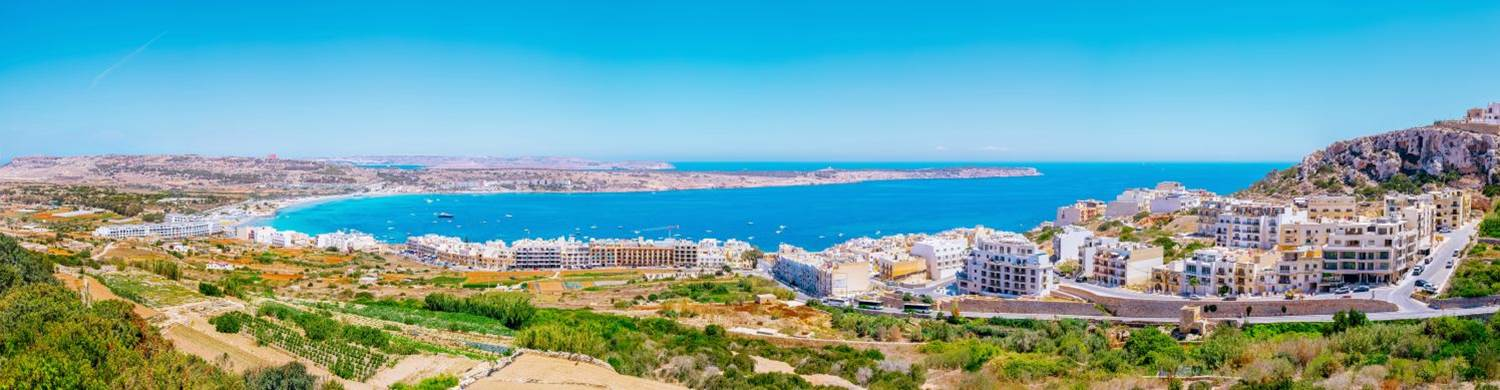 mellieha beach malta holiday